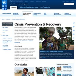 BCPR - Crisis Prevention and Recovery - Disaster Reduction Unit