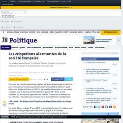 Les crispations alarmantes de la société française