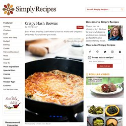 Crispy Hash Browns Recipe
