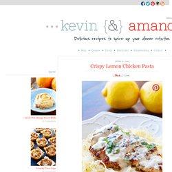 Crispy Lemon Chicken Pasta