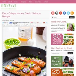 Easy Crispy Honey Garlic Salmon Recipe