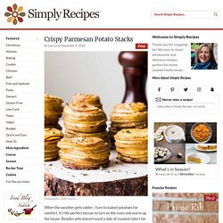 Crispy Parmesan Potato Stacks Recipe