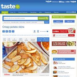 Crispy Potato Skins Recipe