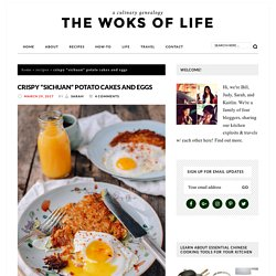 "Crispy ""Sichuan"" Potato Cakes and Eggs"