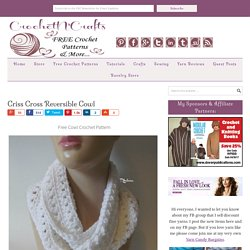 Criss Cross Reversible Cowl