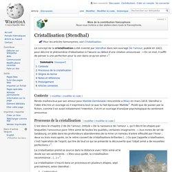 Cristallisation (Stendhal)