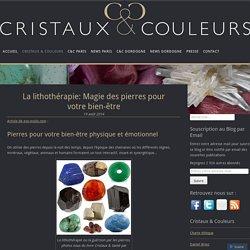 CRISTAUX & COULEURS