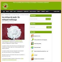Les cristaux de soude : Un nettoyant multiusage