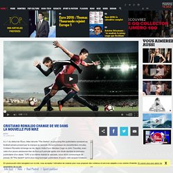 Cristiano Ronaldo change de vie dans la nouvelle pub Nike