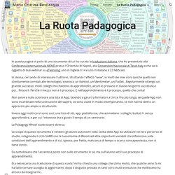 Maria Cristina Bevilacqua - La Ruota Padagogica