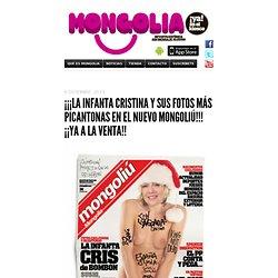 ¡¡¡LA INFANTA CRISTINA Y SUS FOTOS MÁS PICANTONAS EN EL NUEVO MONGOLIÚ!!! ¡¡YA A LA VENTA!!