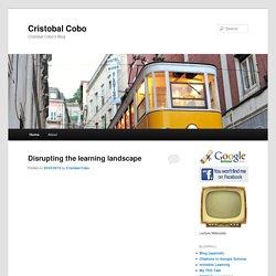 Cristobal Cobo's Blog