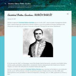 Cristobal Dattas Gamboa: RUBÉN DARÍO
