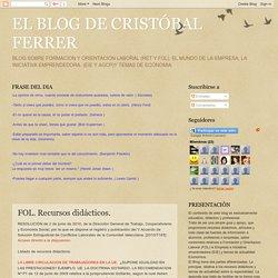EL BLOG DE CRISTÓBAL FERRER: FOL. Recursos didácticos.