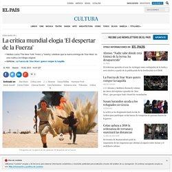 "ElPais ""Star Wars 7: La crítica mundial elogia 'El despertar de la Fuerza'"" 1512"