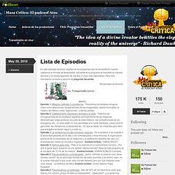 Masa Crítica: El podcast Ateo