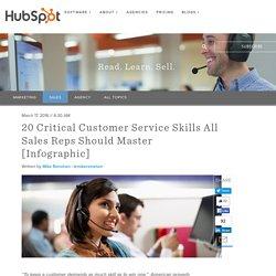 20 Critical Customer Service Skills All Sales Reps Should Master