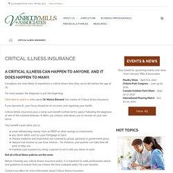 Critical Illness Insurance at Vanrooy Mills