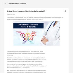 Critical Illness Insurance: What is it and who needs it?