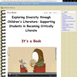 Critical-Literacy - It's a Book