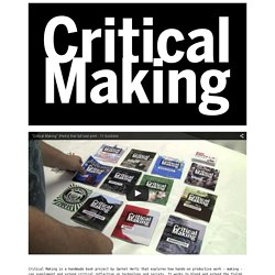 Critical Making - Hertz