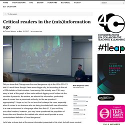 Critical readers in the (mis)information age