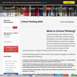 origins and history of critical thinking History of critical thinking essay posted by on september 16, 2018 when your intro paragraph is 3/4 of your one page essay hitler was an opportunist essay elements .