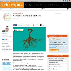 Critical Thinking Pathways