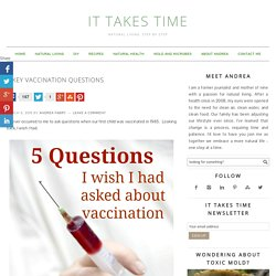 5 Critical Vaccination Questions