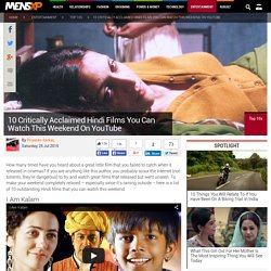 10 Critically Acclaimed Hindi Films You Can Watch This Weekend On YouTube