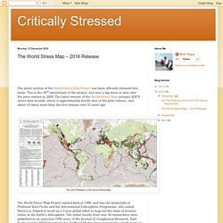 *****The World Stress Map – 2016 Release