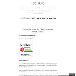 critique applications