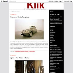 KLIK - critique éclectique - Blog LeMonde.fr