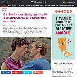 Call Me By Your Name : critique du film érotique avec Timothée Chalamet