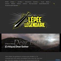 [Critique] Dear Esther