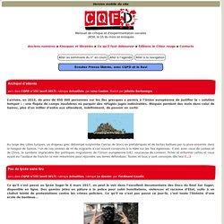 CQFD, mensuel de critique et d'expérimentation sociales
