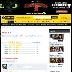 Critiques Spectateurs pour le film Azumi