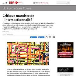 Critique marxiste de l'intersectionnalité