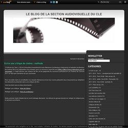 Ecrire une critique de cinéma : méthode - cinemaav-cle.over-blog.com