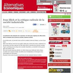 Ivan Illich et la critique radicale de la société industrielle