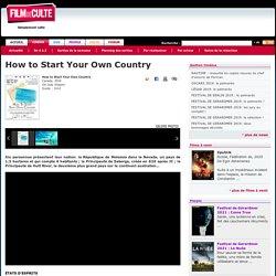 Critique de How to Start Your Own Country de Jody Shapiro
