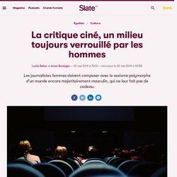 La critique ciné, un milieu toujours verrouillé par les hommes