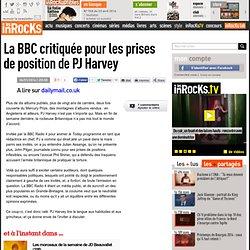 La BBC critiquée pour les prises de position de PJ Harvey