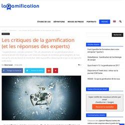 Les critiques de la gamification (et les réponses des experts)