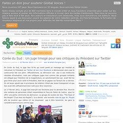 Corée du Sud : Un juge limogé pour ses critiques du Président sur Twitter