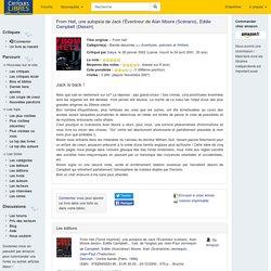critiquesLibres.com : From Hell, une autopsie de Jack l'Éventreur Alan Moore, Eddie Campbell