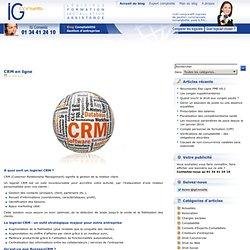 CRM en ligne