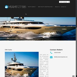 CRN Yachts For Sale, Miami CRN Dealers