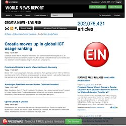 Croatia News - Media Monitoring Service by EIN News