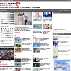 Croatian Times Online News - English Newspaper
